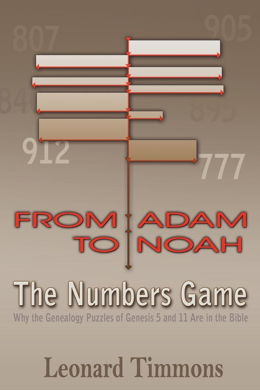 From Adam to Noah-The Numbers Game: Why the Genealogy Puzzles of Genesis 5 and 11 Are in the Bible EB9780983383123