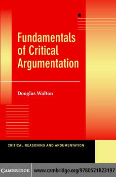 Fundamentals Critical Argumentation EB9780511137921