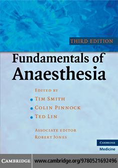 Fundamentals of Anaesthesia EB9780511636370