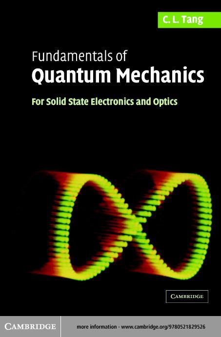 Fundamentals of Quantum Mechanics EB9780511123818