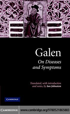 Galen: On Diseases and Symptoms EB9780511254963