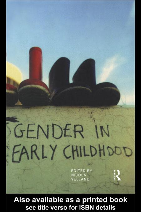 Gender in Early Childhood EB9780203161890