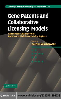 Gene Patents and Collaborative Licensing Models EB9780511577567