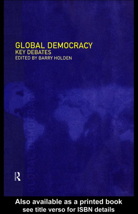Global Democracy EB9780203175026