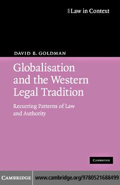 Globalisation and the Western Legal Tradition EB9780511473944