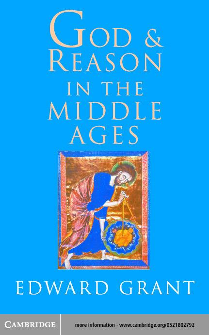 God and Reason in the Middle Ages EB9780511032622