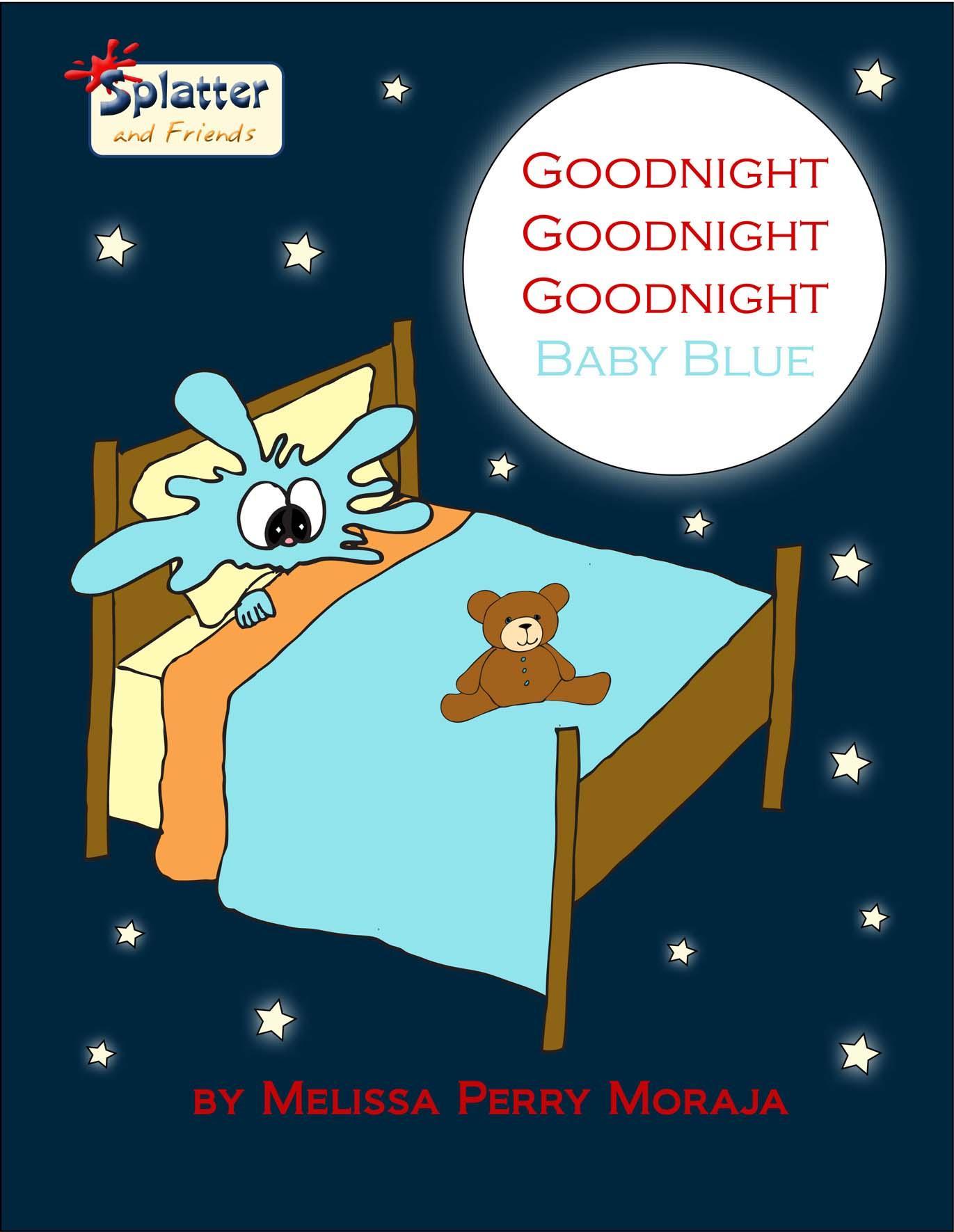 Goodnight Goodnight Goodnight Baby Blue EB9780983475125