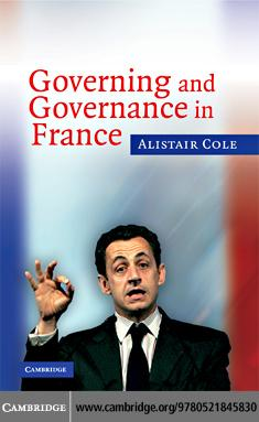 Governing and Governance in France EB9780511421372