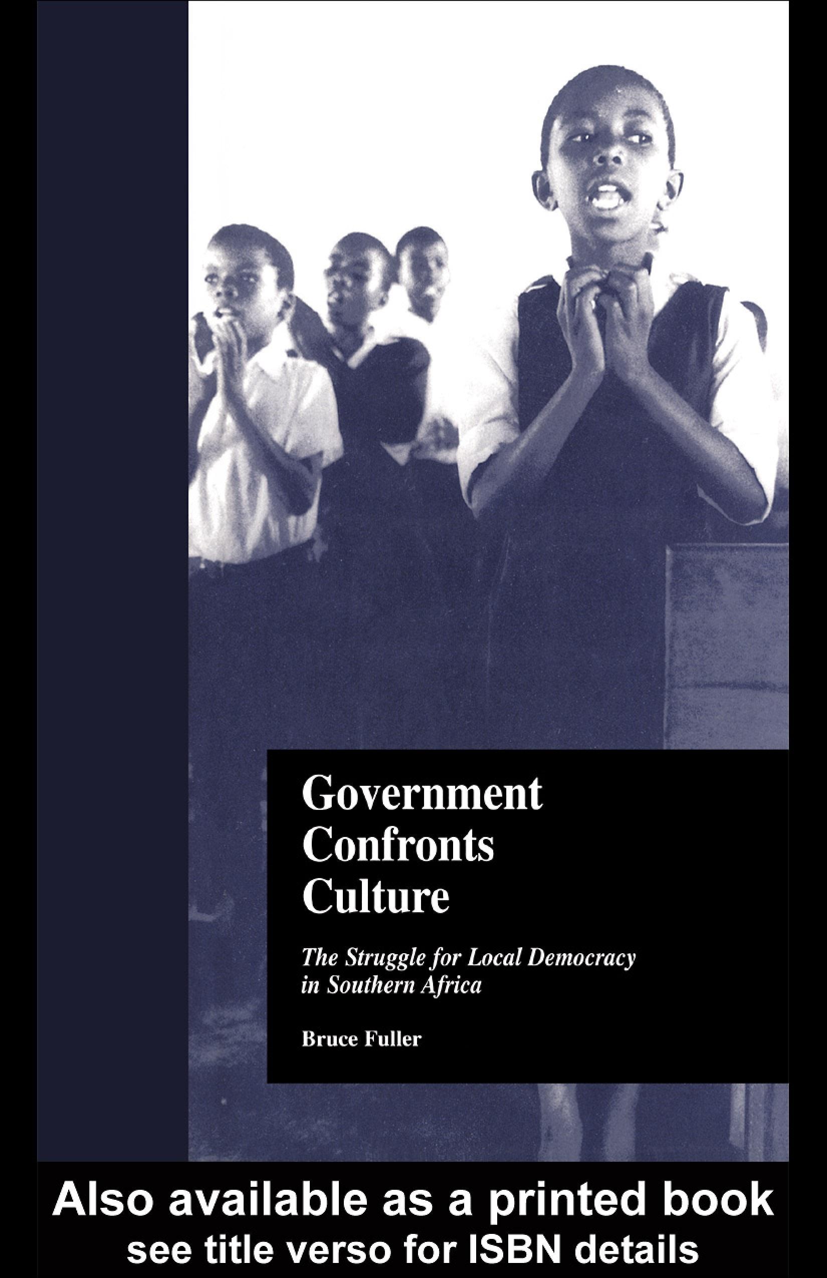 Government Confronts Culture EB9780203906828