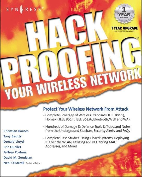 Hackproofing Your Wireless Network EB9780080478180