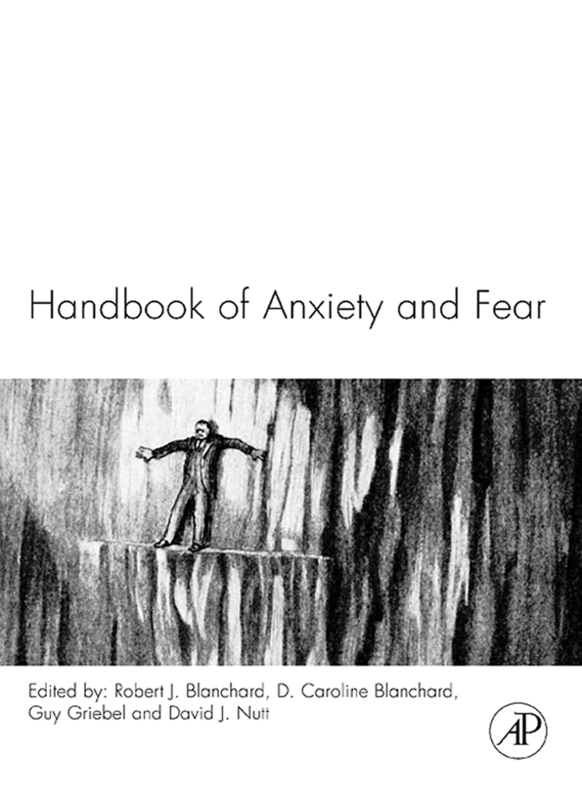 Handbook of Anxiety and Fear EB9780080559520