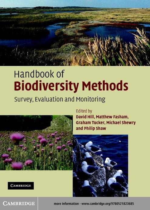 Handbook of Biodiversity Methods EB9780511124075