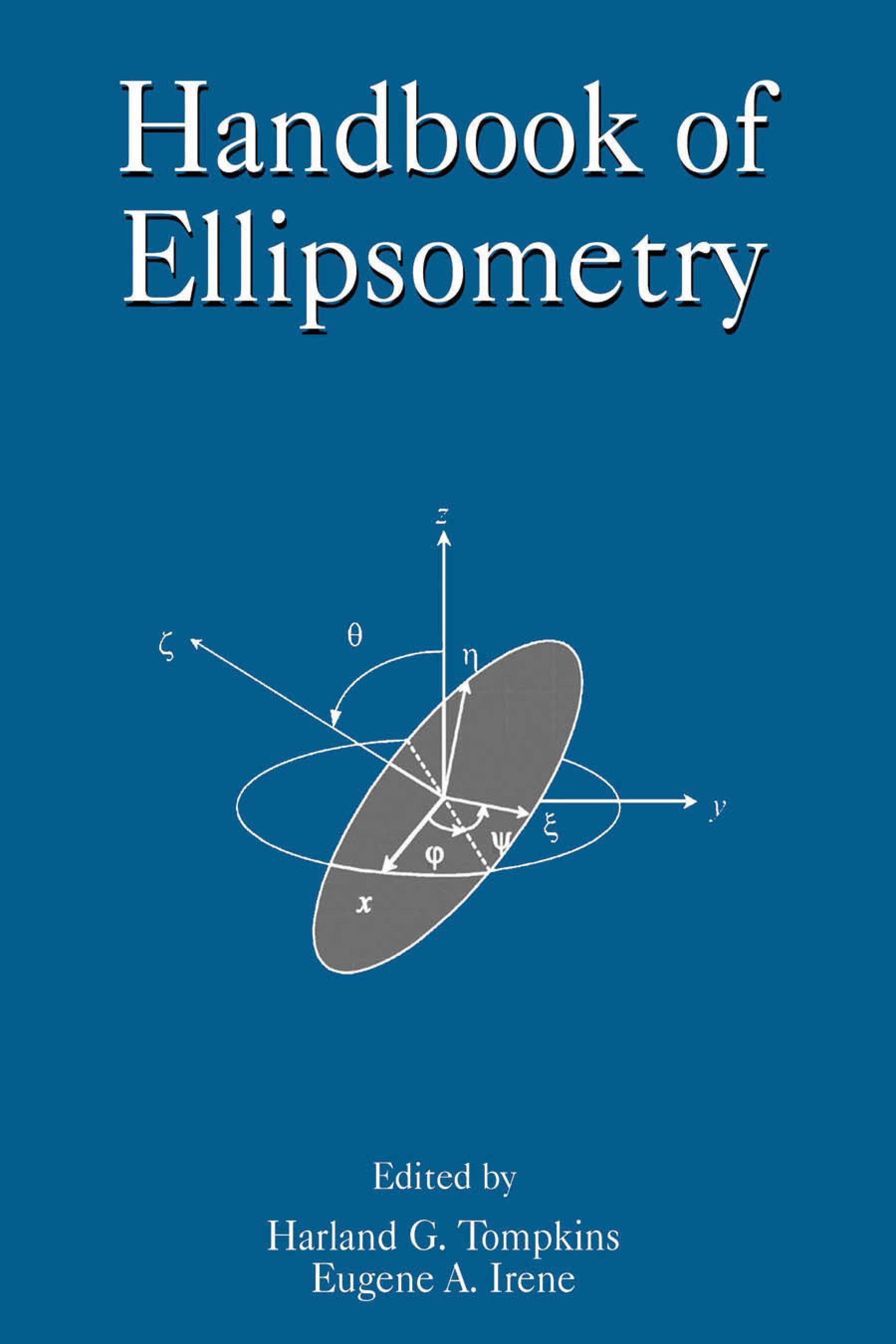 Handbook of Ellipsometry EB9780815517474