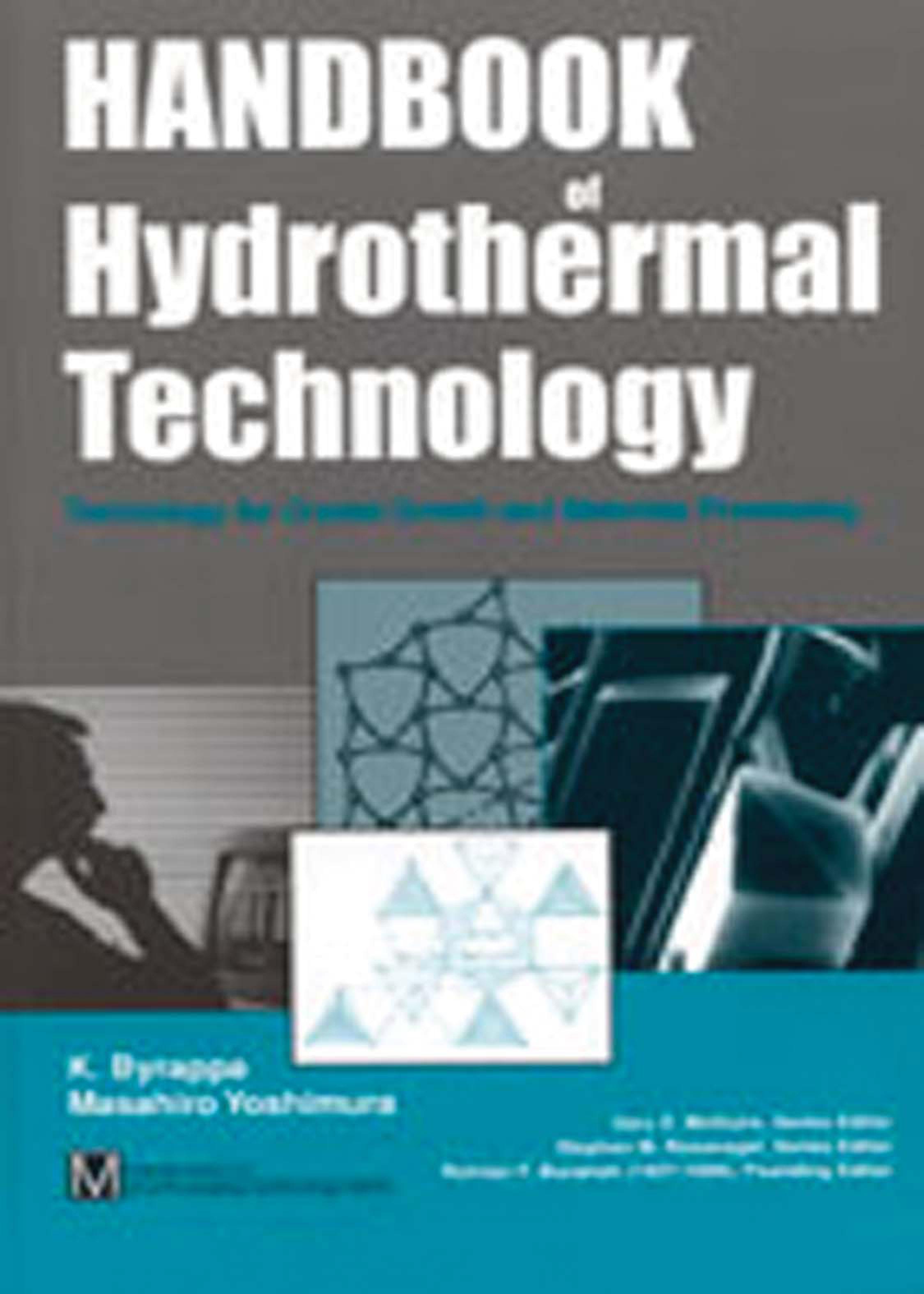 Hydrothermal Handbook K. Byrappa, Masahiro Haber