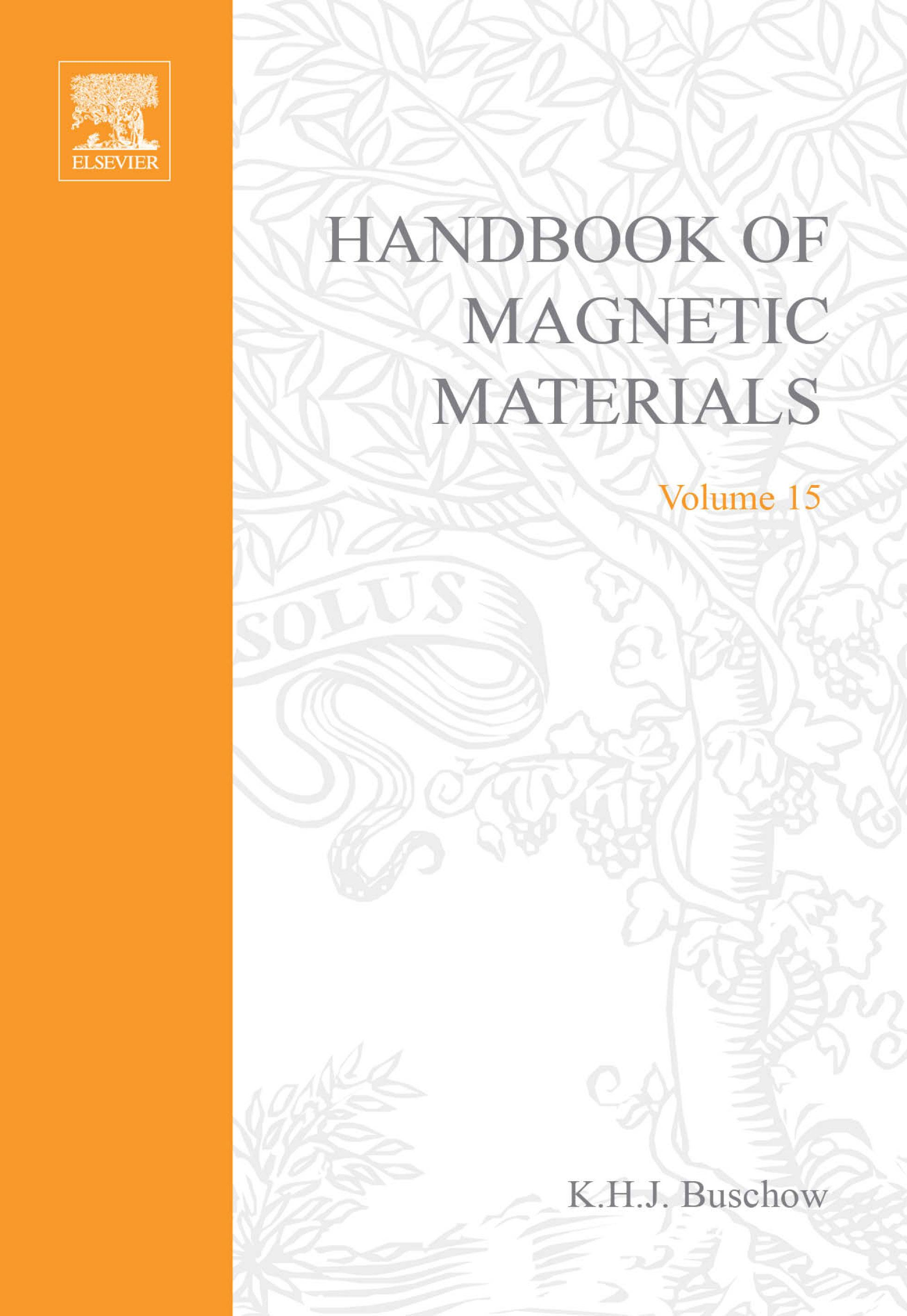 Handbook of Magnetic Materials EB9780080522456