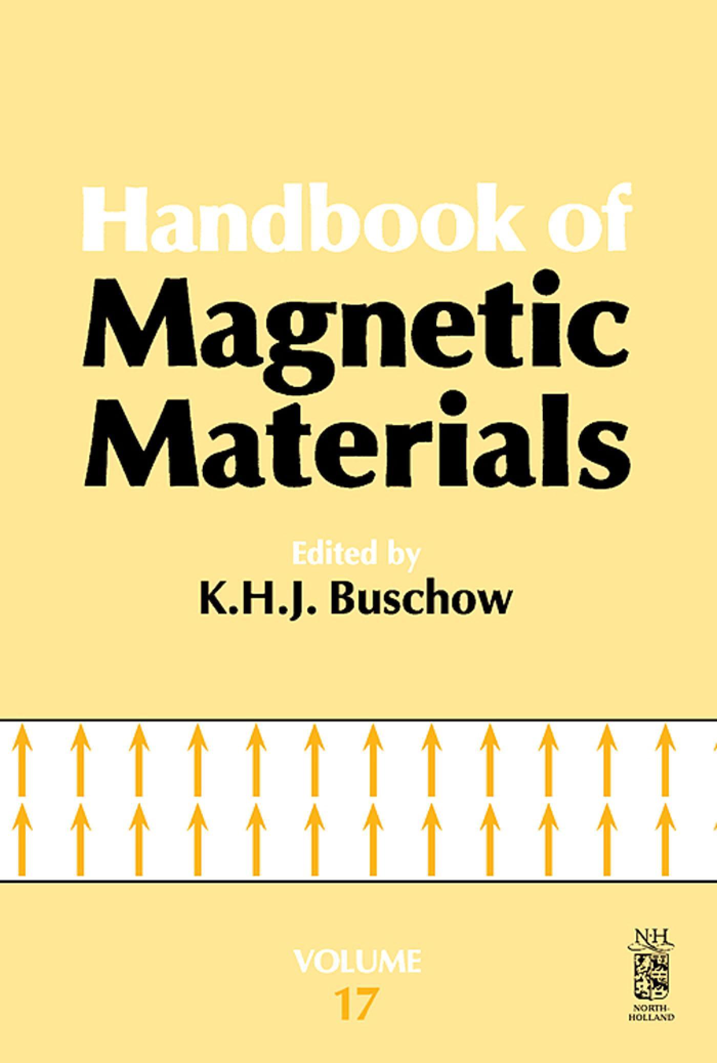 Handbook of Magnetic Materials EB9780080553863