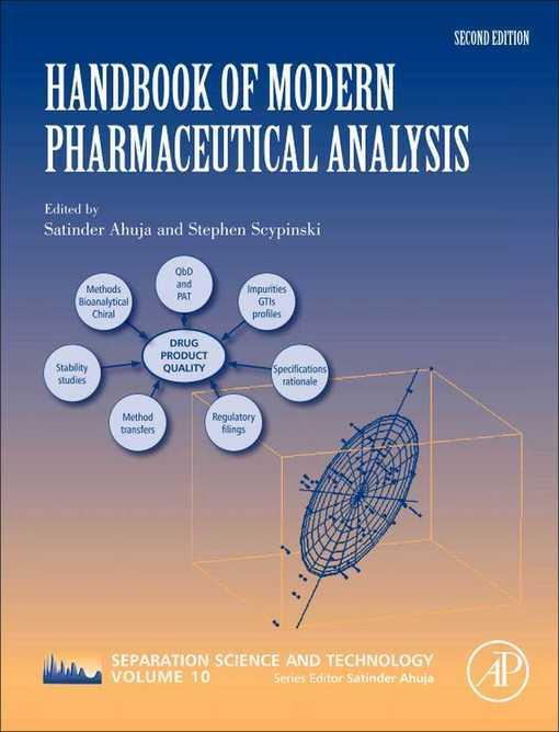 Handbook of Modern Pharmaceutical Analysis EB9780123759818