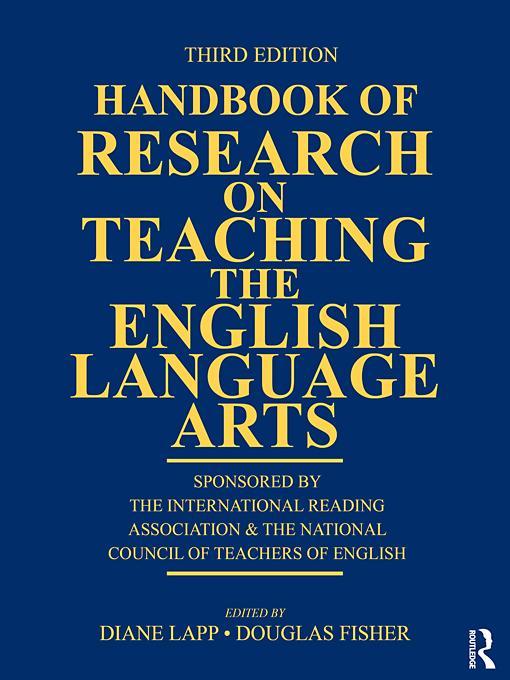 Handbook of Research on Teaching the English Language Arts EB9780203839713