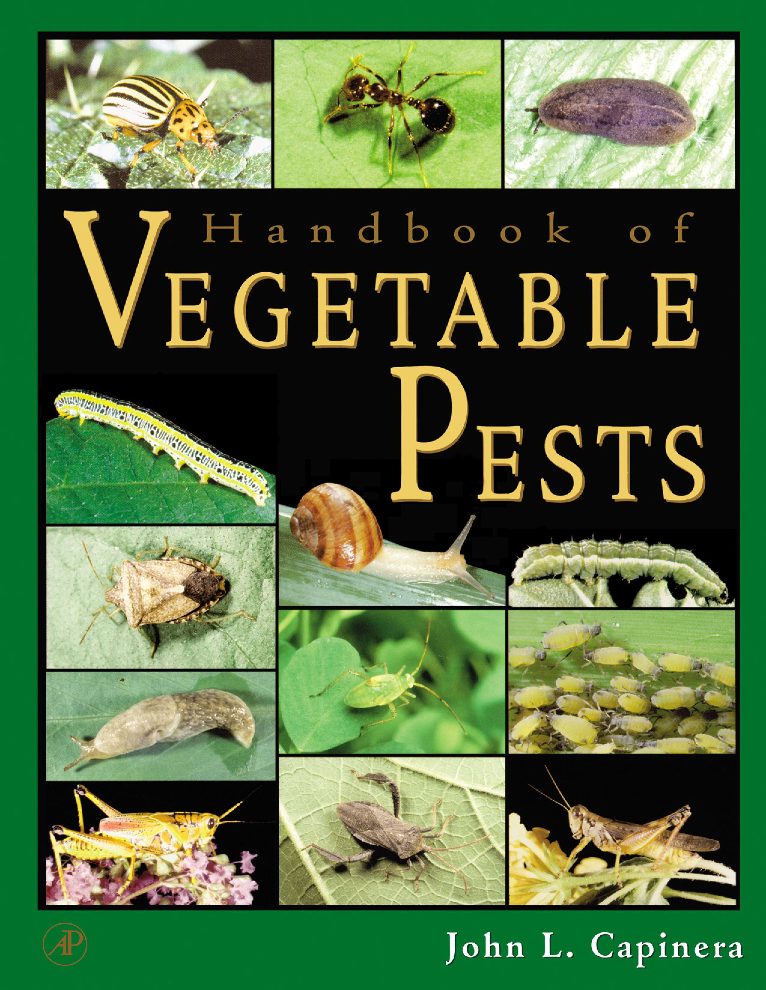 Handbook of Vegetable Pests EB9780080533261