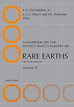 Handbook on the Physics and Chemistry of Rare Earths: Optical Spectroscopy EB9780080548586