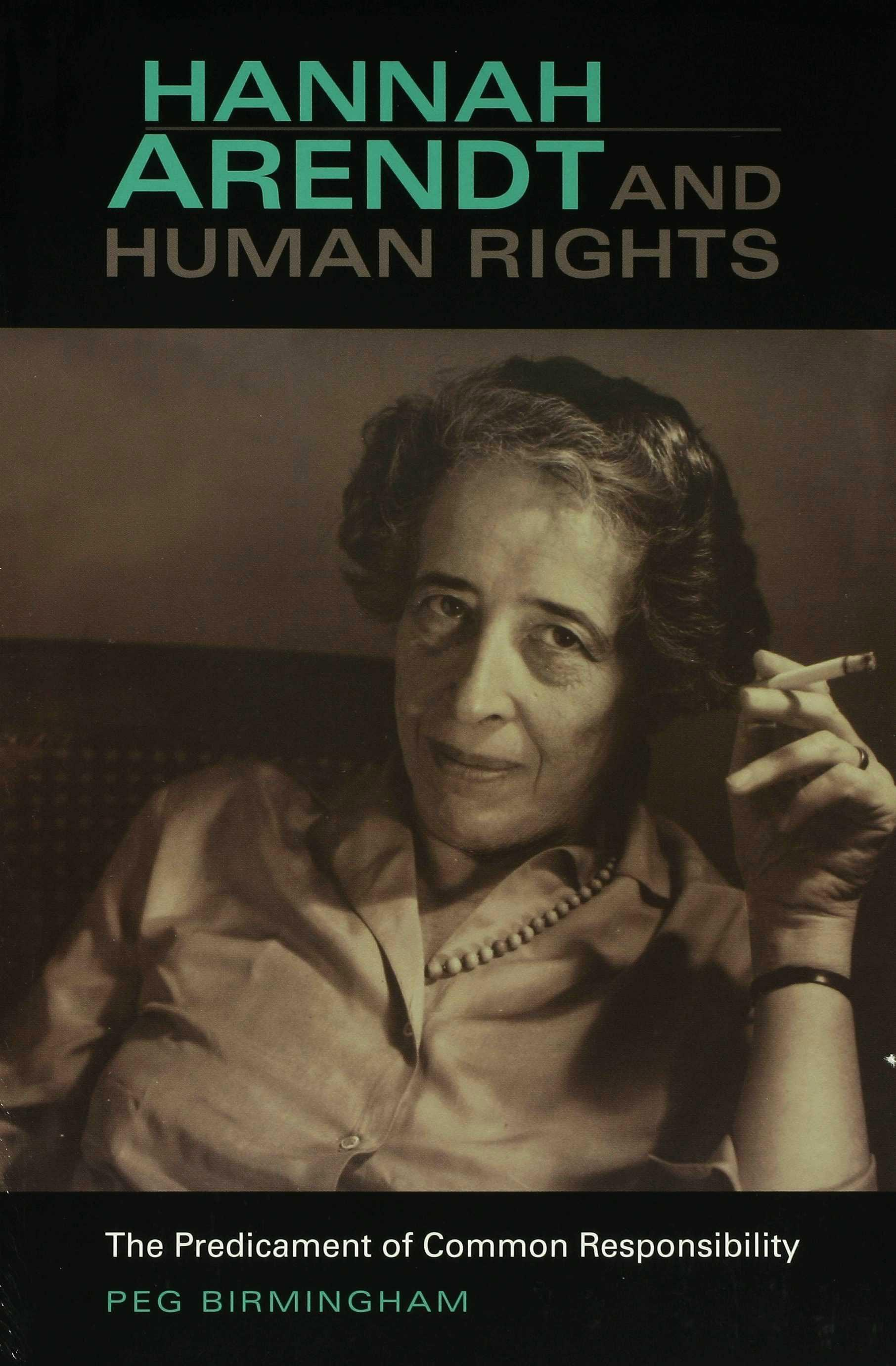 Hannah Arendt and Human Rights EB9780253112262