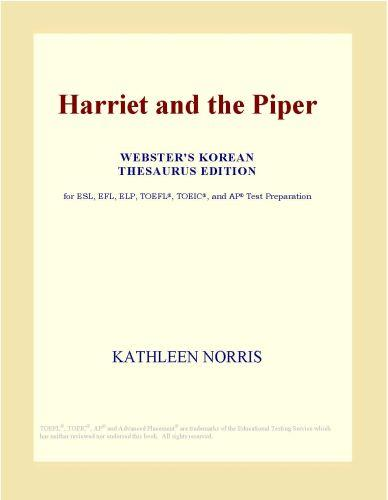 Harriet and the Piper (Webster's Korean Thesaurus Edition) EB9780546500080
