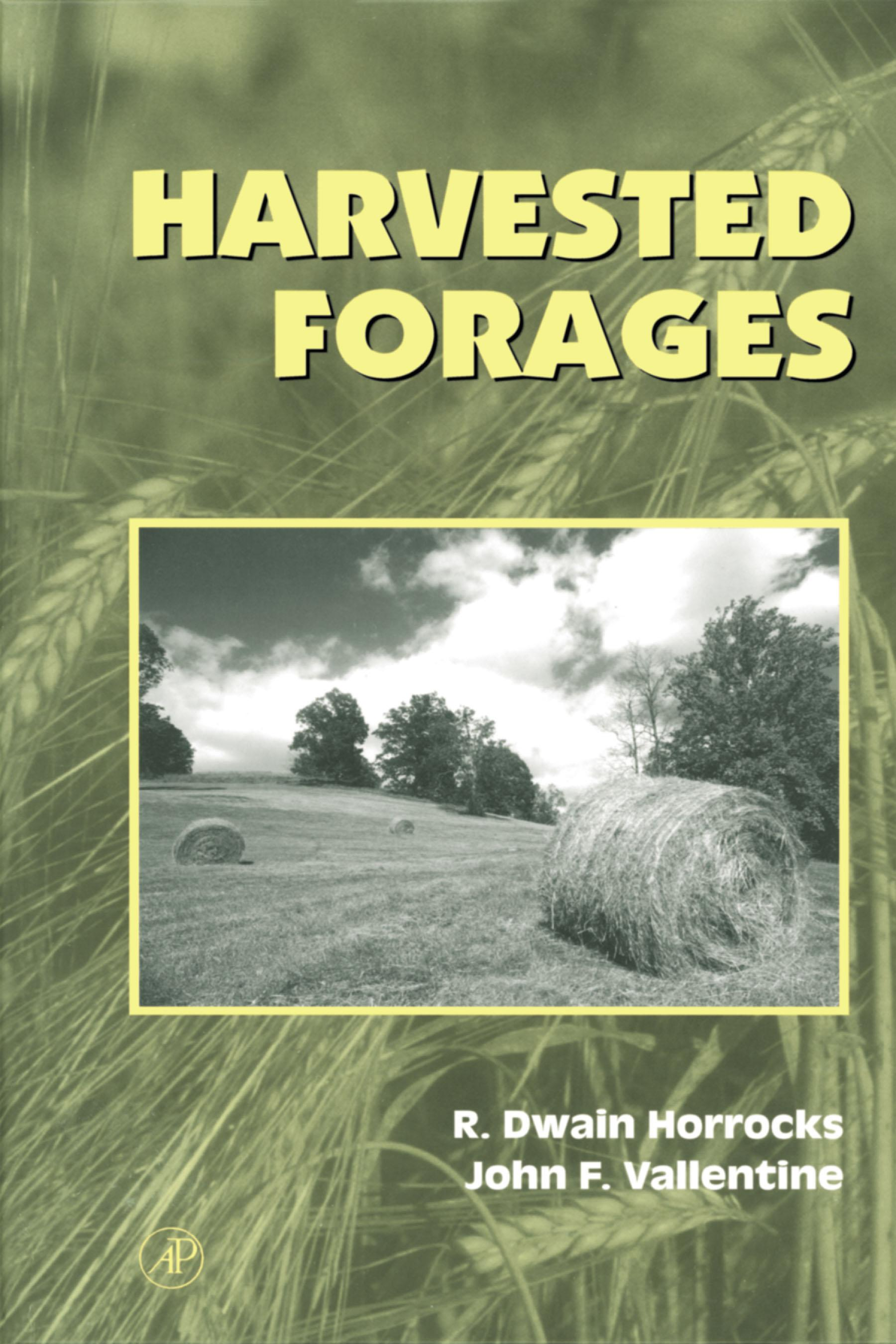 Harvested Forages EB9780080533315