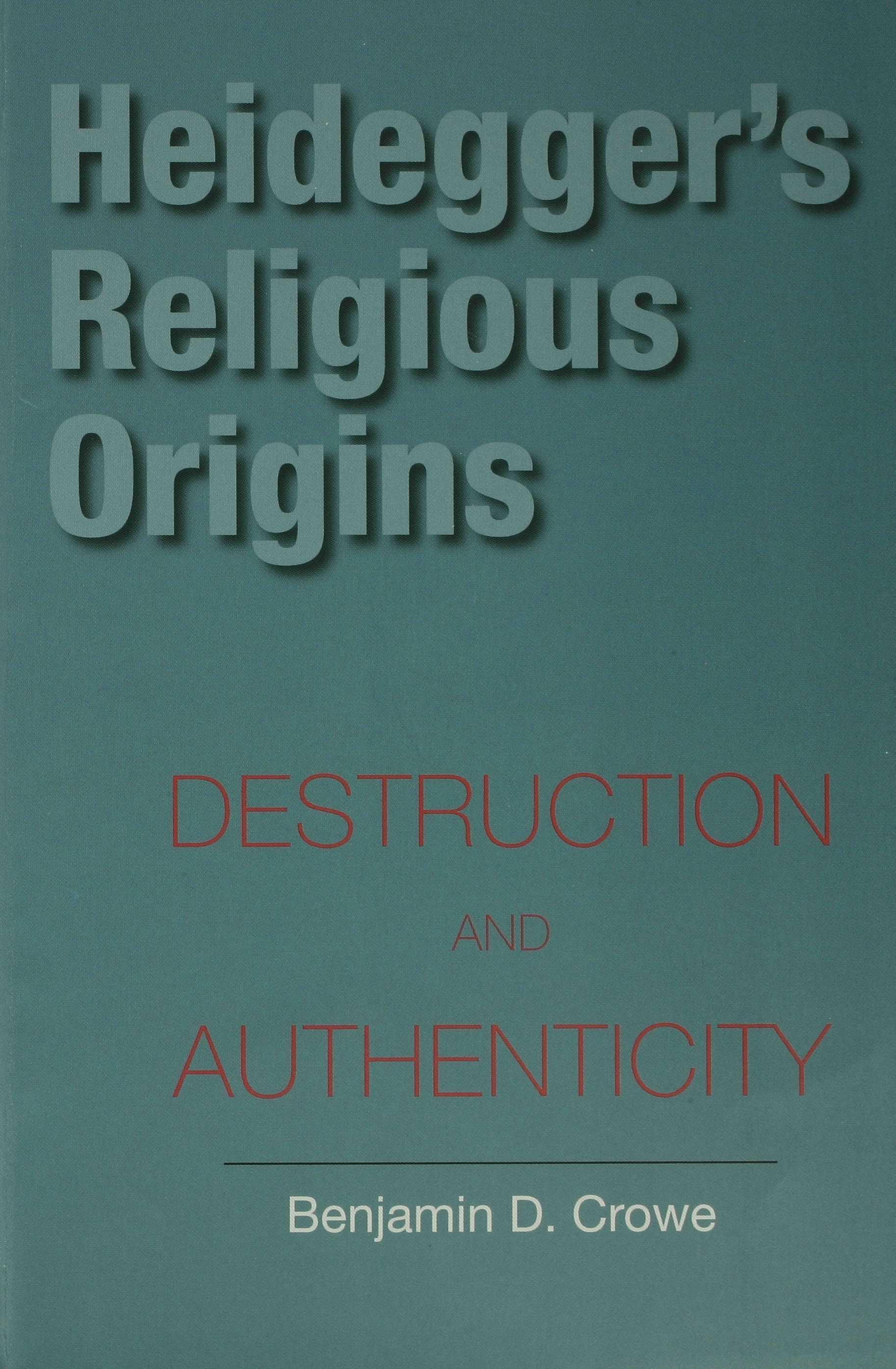Heidegger's Religious Origins EB9780253111975