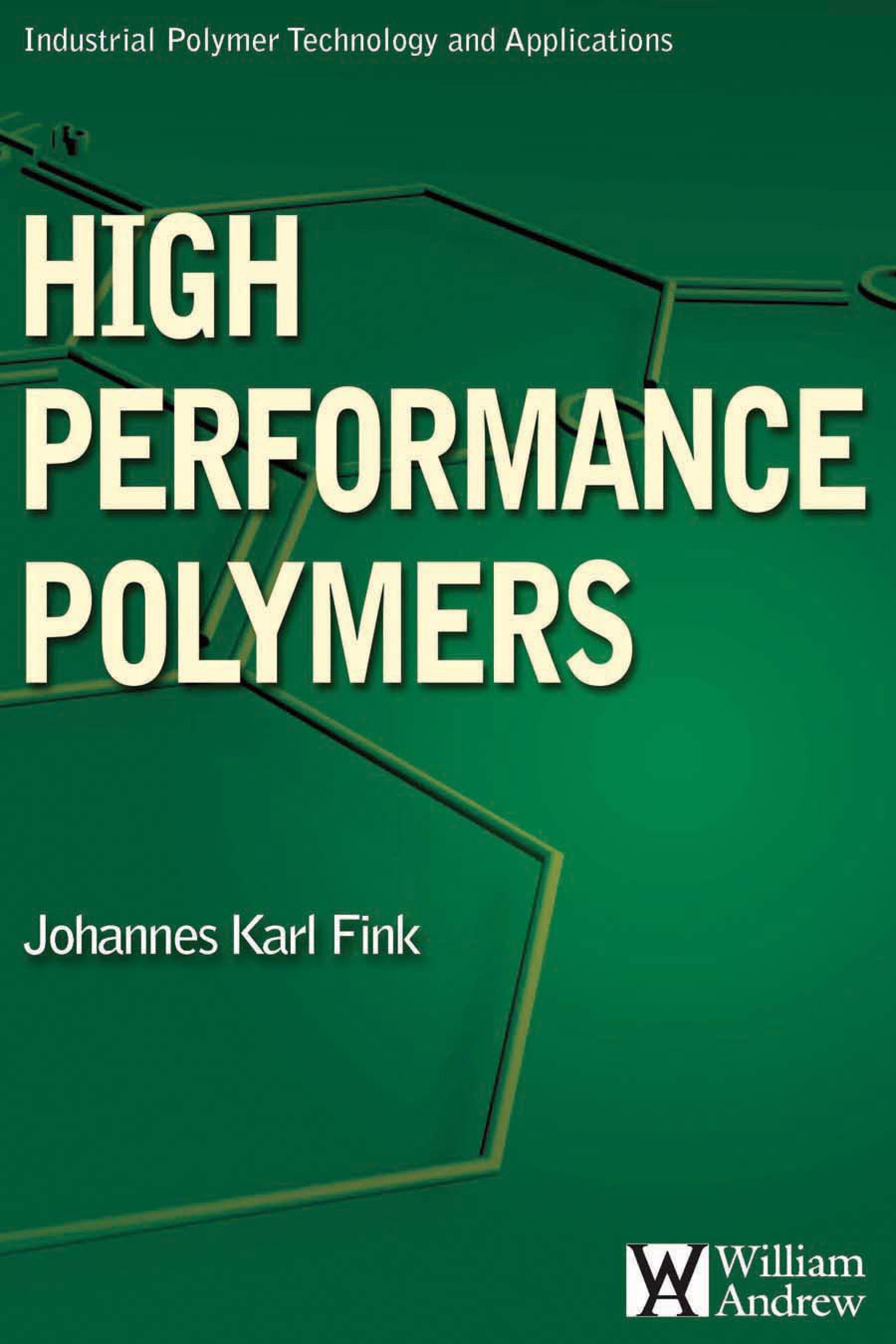 High Performance Polymers EB9780815519751