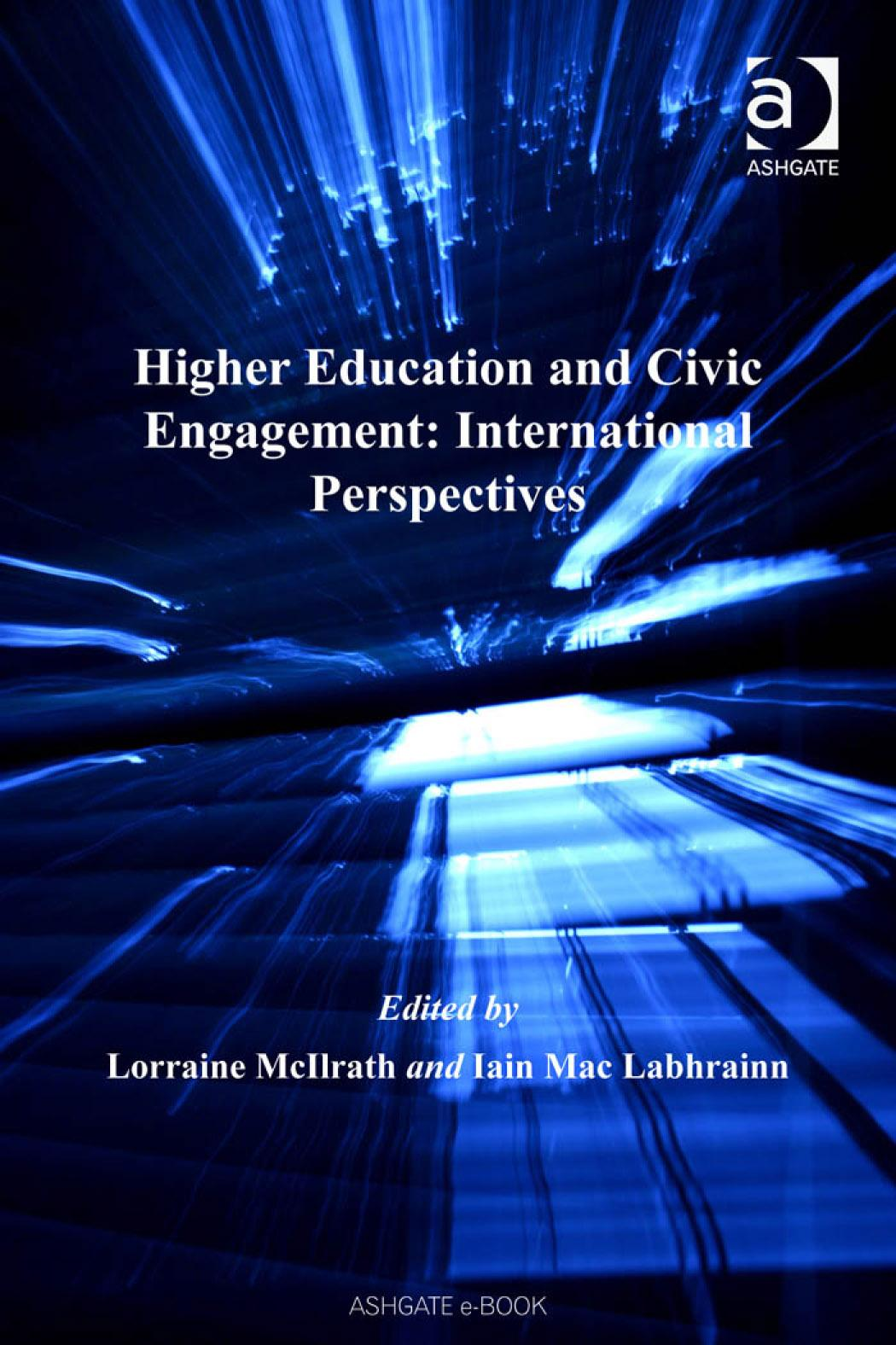 Higher Education and Civic Engagement: International PerspectivesCorporate Social Responsibility Series