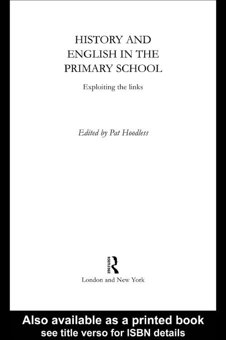 History and English in the Primary School EB9780203210543