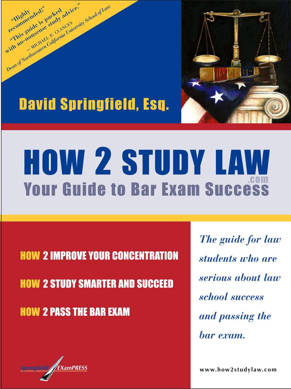 How 2 Study Law EB9780976550716