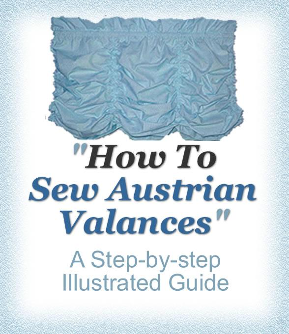 How To Sew Austrian Valances EB9780974263144