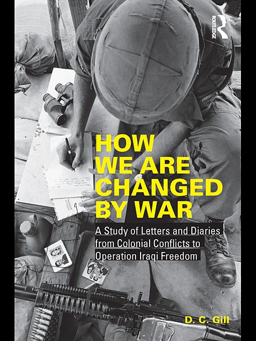 How We Are Changed by War EB9780203856260