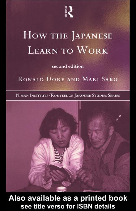 How the Japanese Learn to Work EB9780203210222