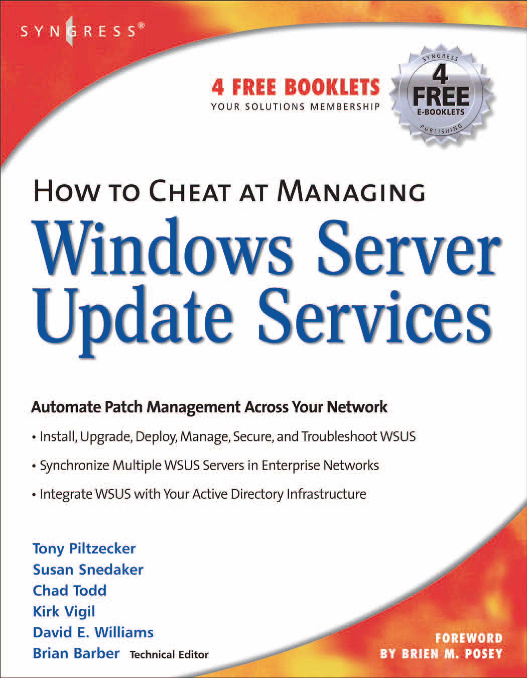 How to Cheat at Managing Windows Server Update Services EB9780080488981