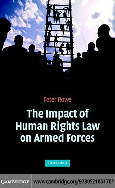 Human Rights Law Armed Forces EB9780511138171
