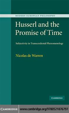 Husserl and the Promise of Time EB9780511654473