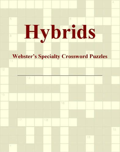 Hybrids - Webster's Specialty Crossword Puzzles EB9780546427622