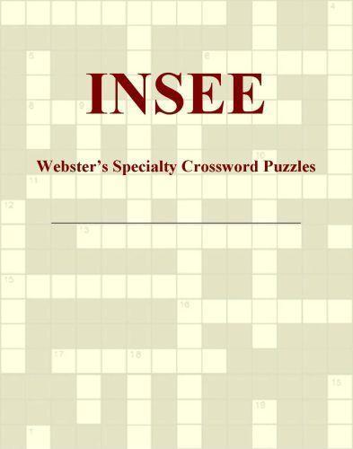 INSEE - Webster's Specialty Crossword Puzzles EB9780546427882