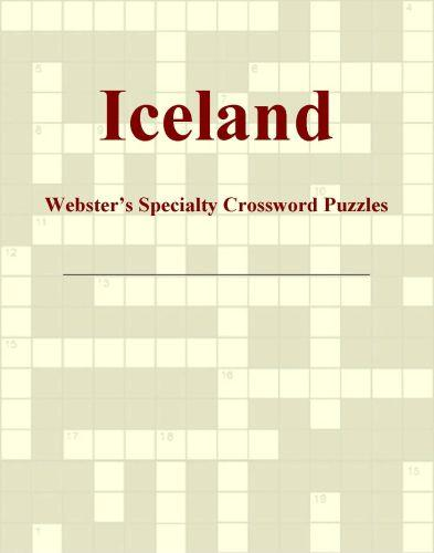 Iceland - Webster's Specialty Crossword Puzzles EB9780546427639