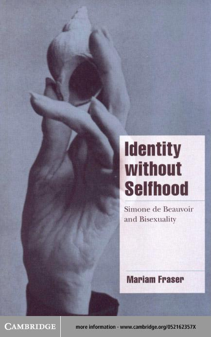 Identity without Selfhood EB9780511035371