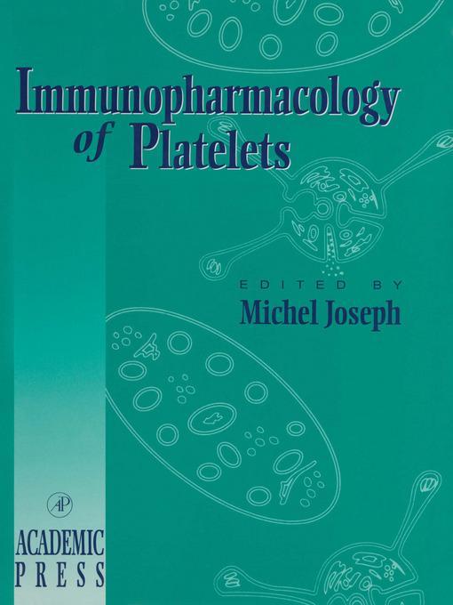 Immunopharmacology of Platelets EB9780080534565