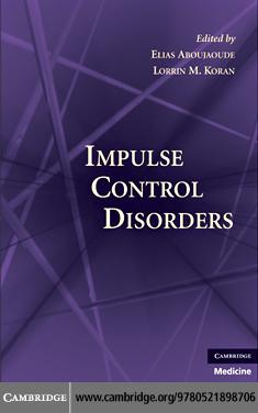 Impulse Control Disorders EB9780511717703