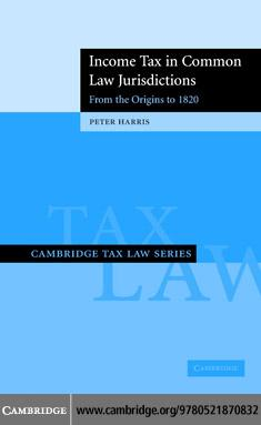 Income Tax Common Law Jurisdict v1 EB9780511258435