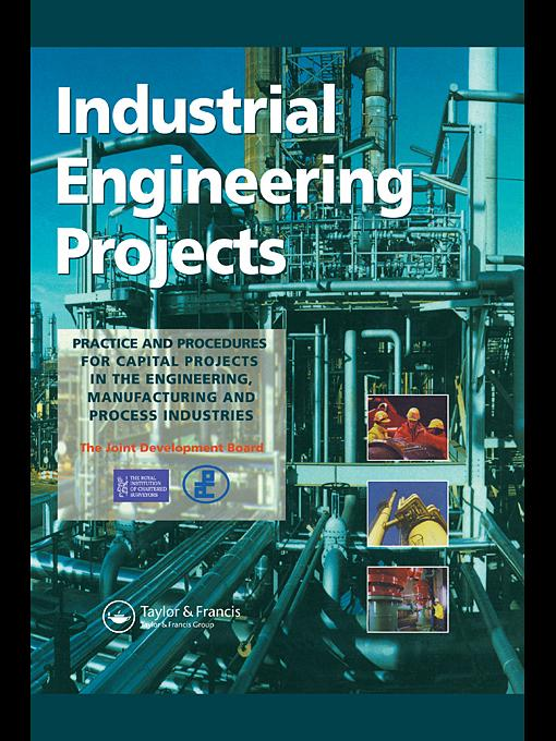 Industrial Engineering Projects EB9780203846377