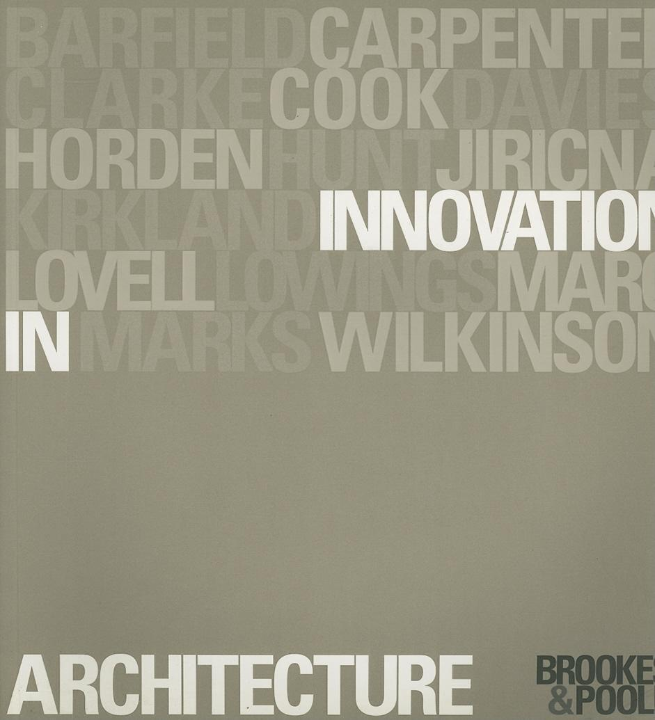 Innovation in Architecture EB9780203402429