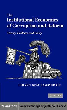 Institnl Economics Corruptn Reform EB9780511271779