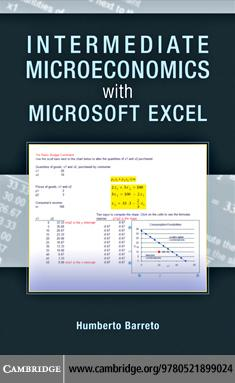 Intermediate Microeconomics with Microsoft Excel EB9780511590290