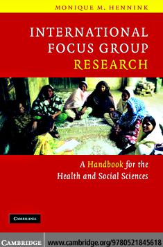 International Focus Group Research EB9780511363801